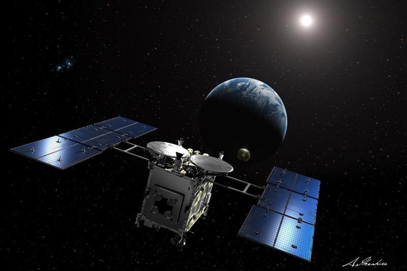 はやぶさ2、きょう帰還へ出発 採取カプセル、来年末に地球投下