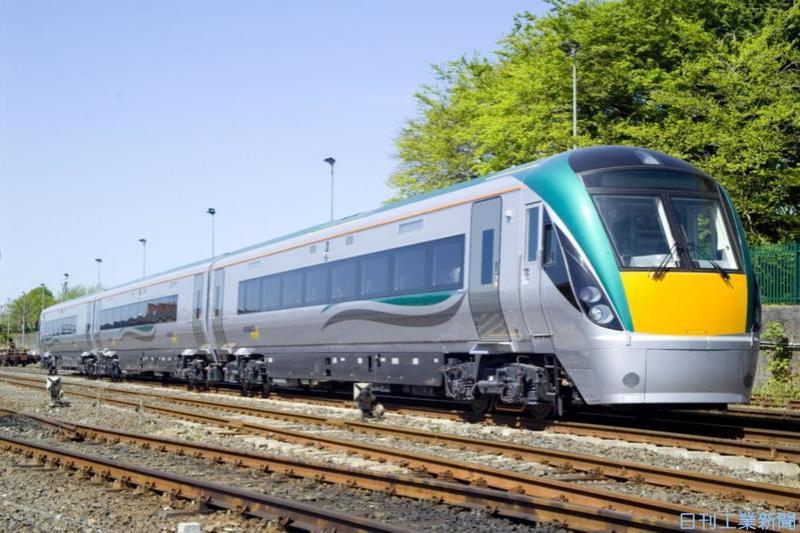 三井物産、アイルランド国鉄から鉄道受注 41車両・141億円